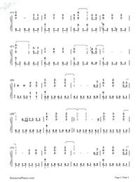 Toki O Kizamu Uta Clannad After Story OP Free Piano Sheet Music Amp Piano Chords