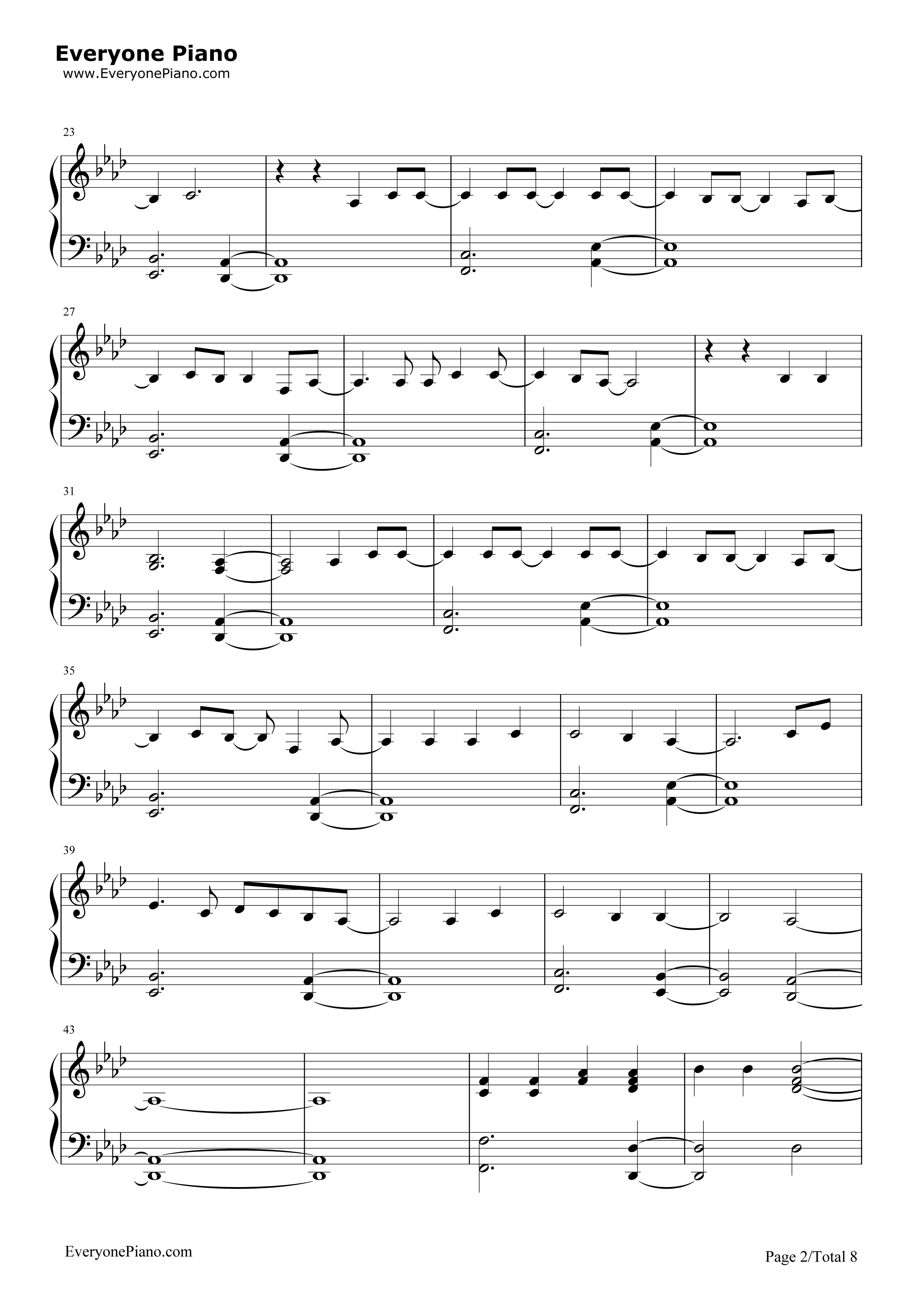Adele Someone Like You Piano Chords For Beginners
