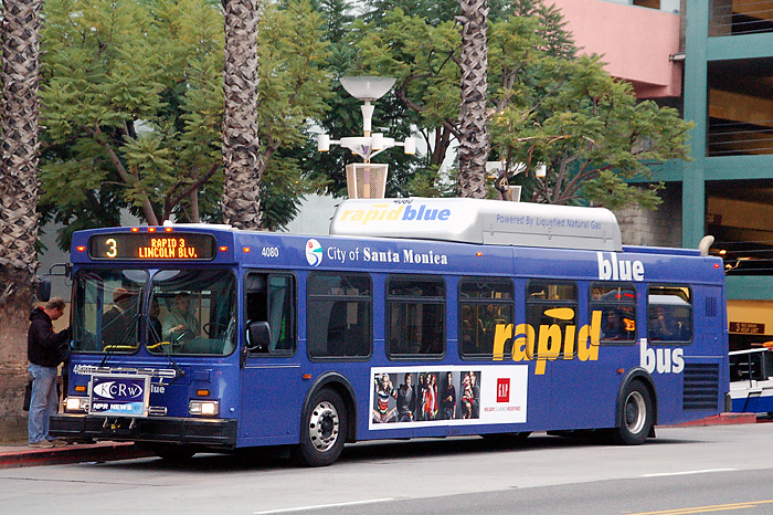 santa monica big blue bus