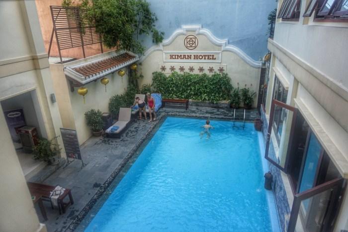 Kiman Hoi An Hotel & Spa pool