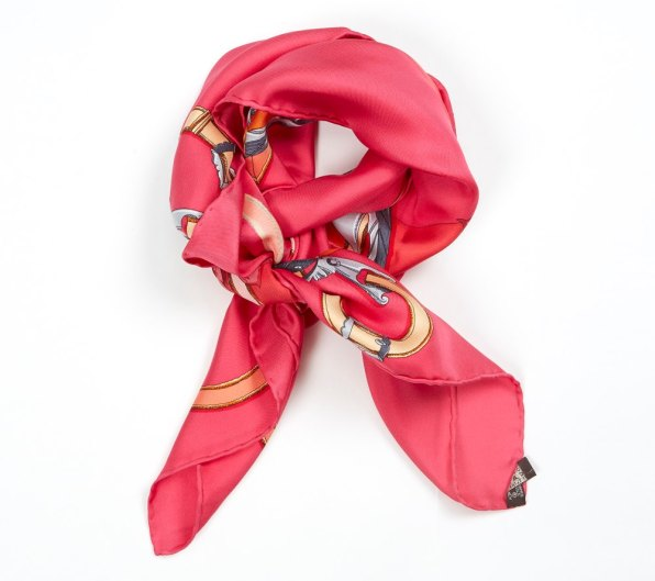 I love the colours of Hermès foulards, don't you?