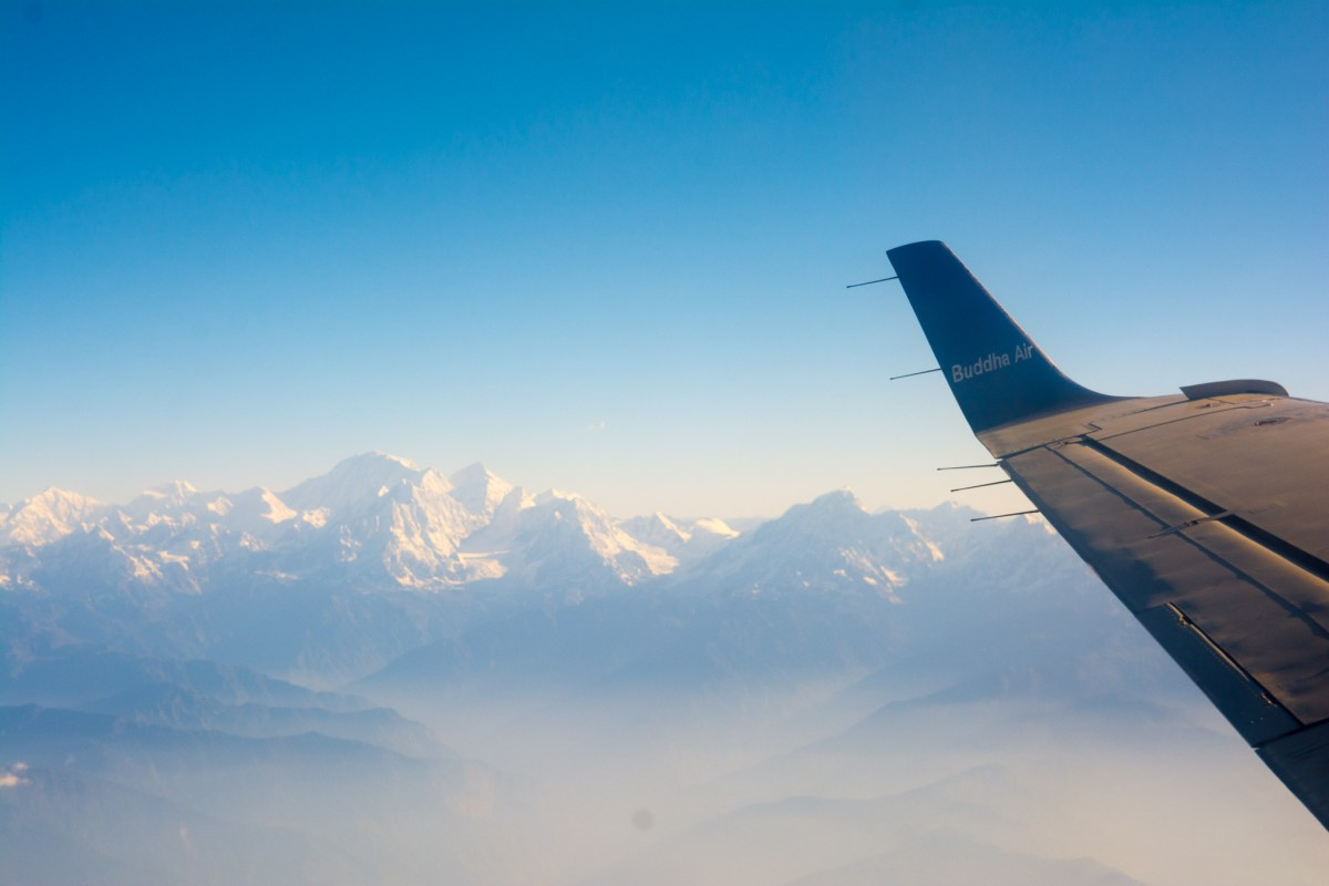 Mountain Flight in Nepal with Buddha Air