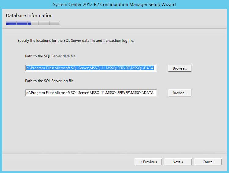 Microsoft SCCM 2012 R2 – Installing SCCM 2012 R2 and CU4
