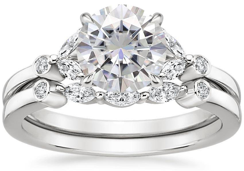 Moissanite Wedding Sets The Handy Guide Before You Buy