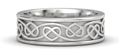 Silver Wedding Bands And Engagement Rings The Handy Guide