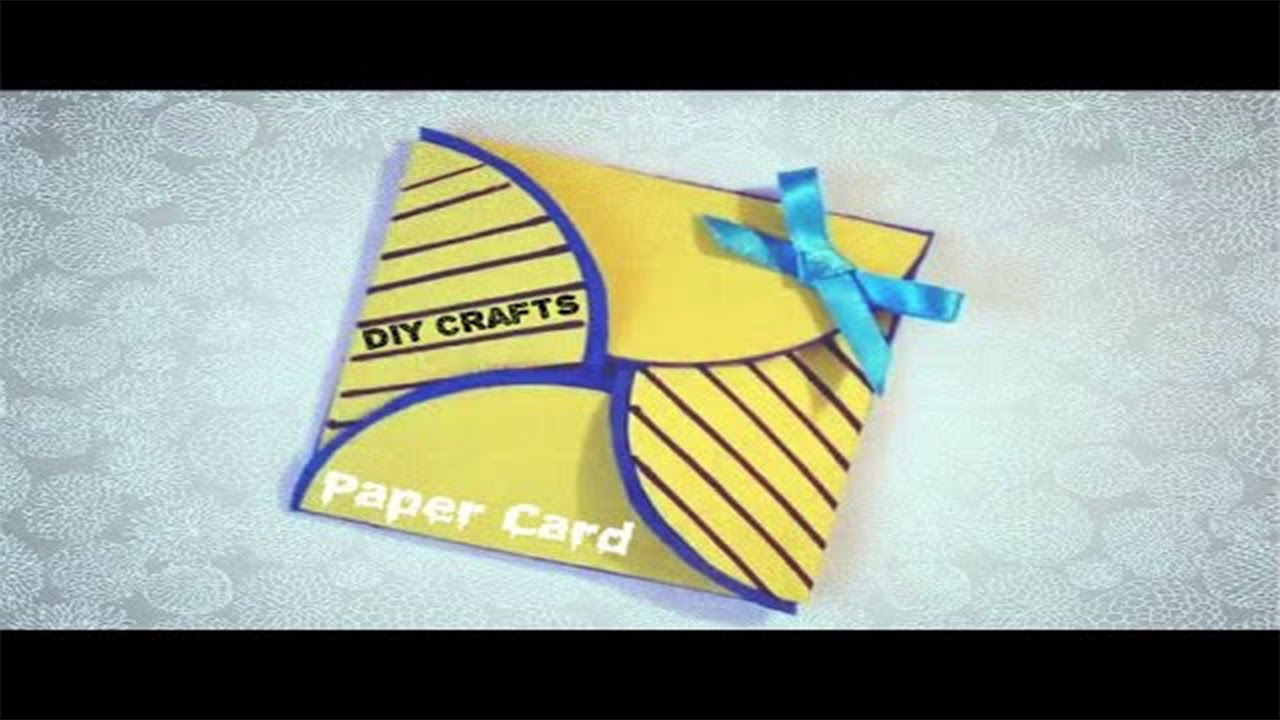Paper Crafts For Teenagers Simple Origami Card Birthday