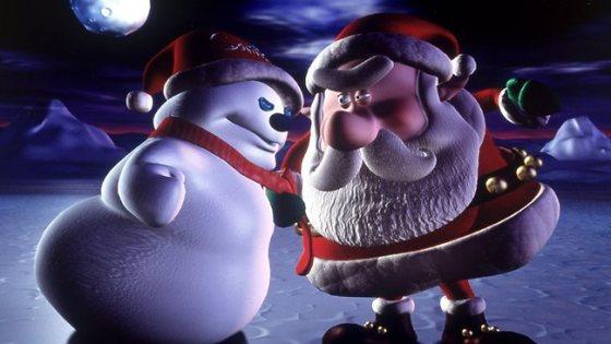 925496-santa-vs-snowman