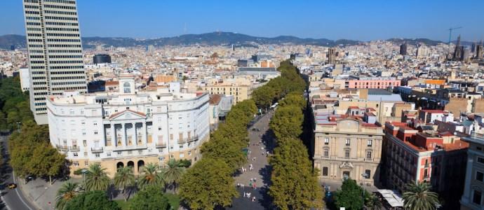 La Rambla de Barcelona, Sagrada Familia, Torre Colon