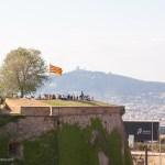 Aussicht vom Castell de Montjuïc