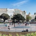 Panorama Plaça Catalunya