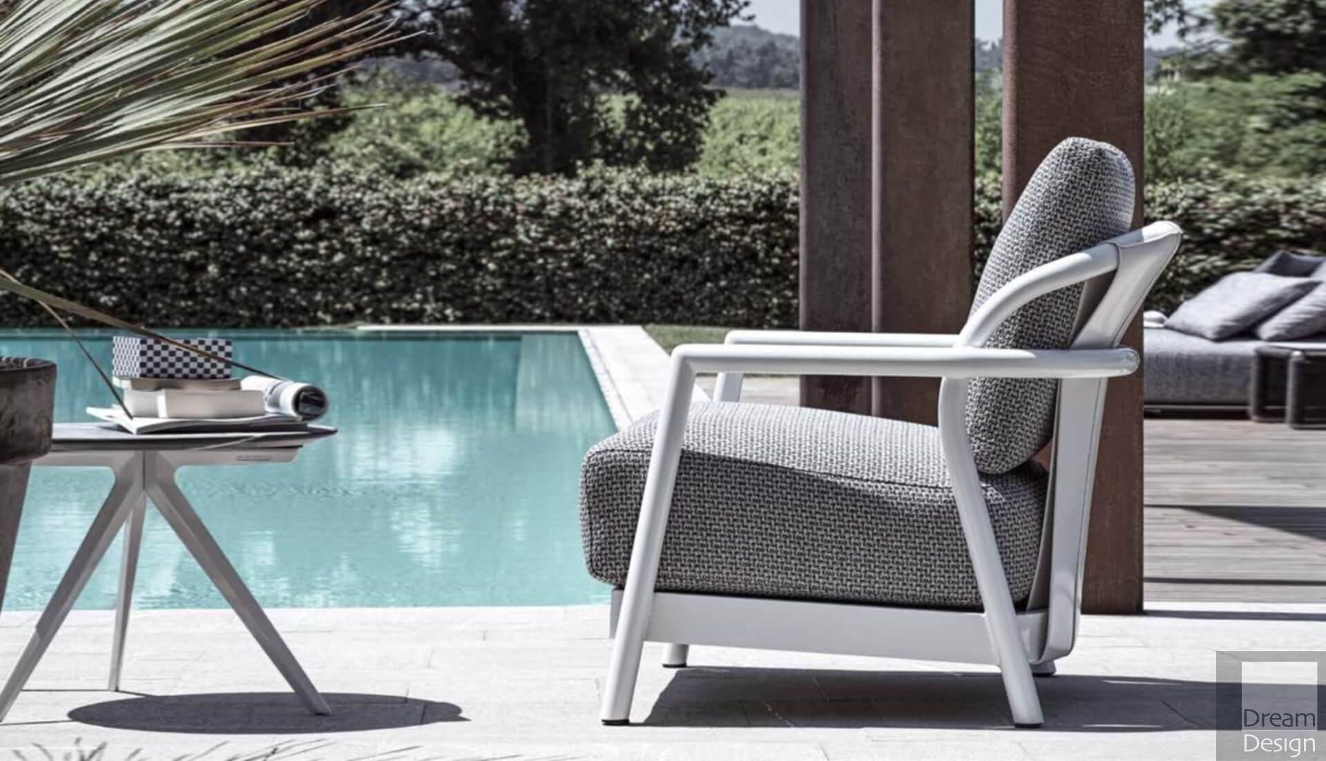 alison outdoor armchair
