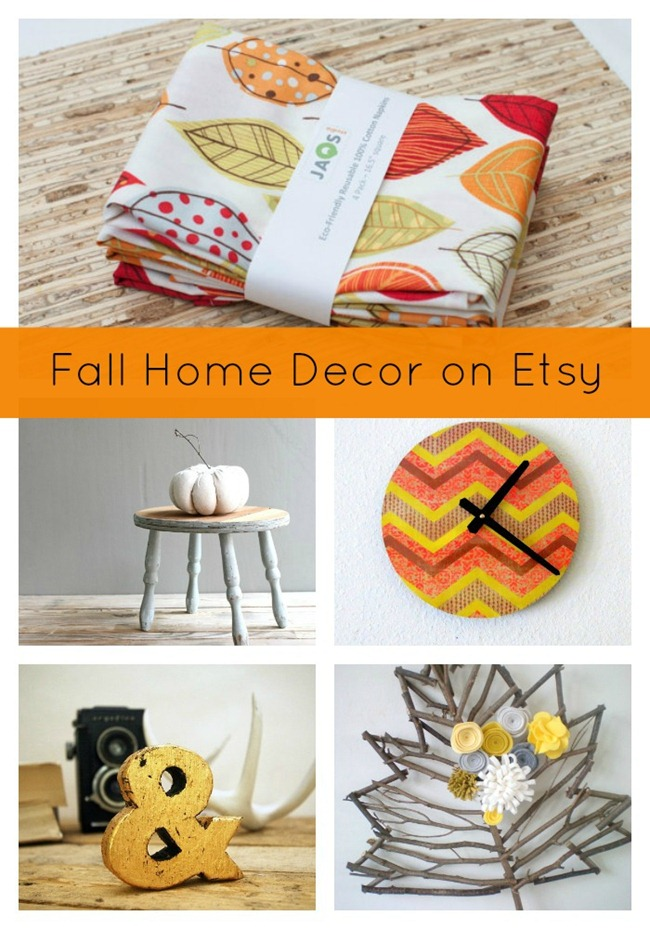Fall Home Decor on Etsy - EverythingEtsy.com