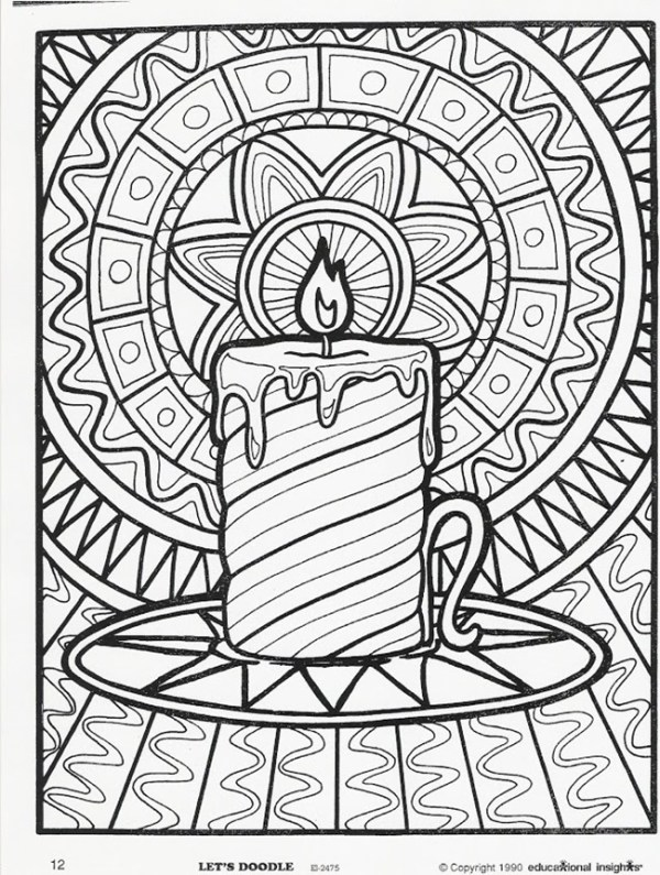 free printable holiday coloring pages # 18