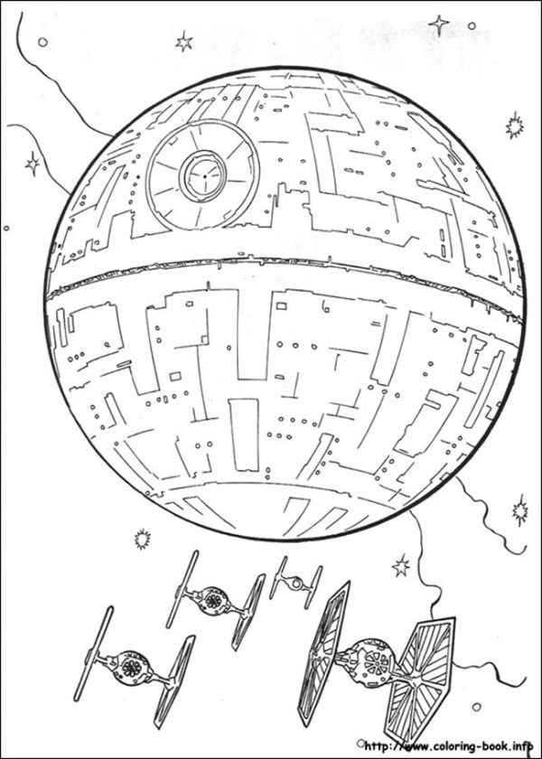 star wars printable coloring pages # 64