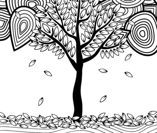 Fall Coloring Pages For Adults Free Printables