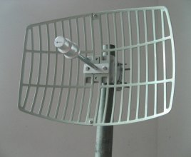 parabolic antenna 2 - Fox Hunting
