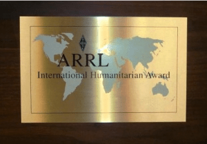 ARRL International Humanitarian Award