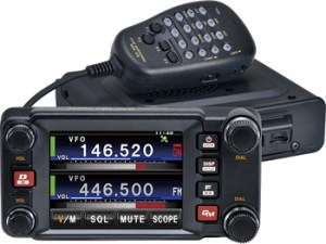 FTM-400DR Dual Band Mobile Radio - System Fusion