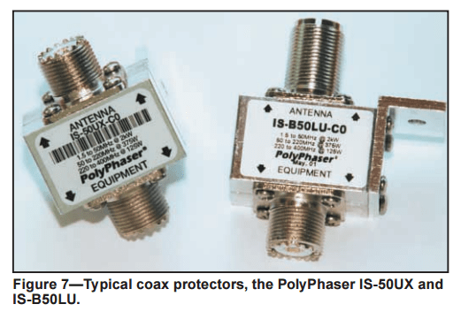 PolyPhaser Coax Lightning Arresters - Lightning Protection