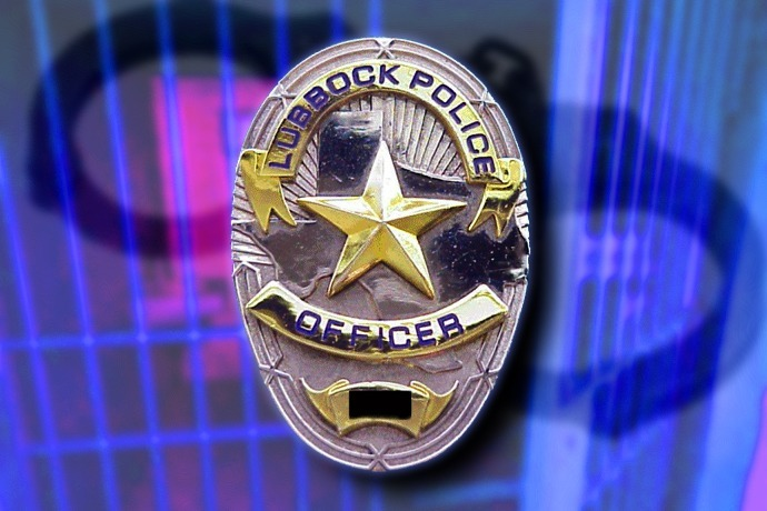 Lubbock Police LPD badge 690_-6903832559564011790