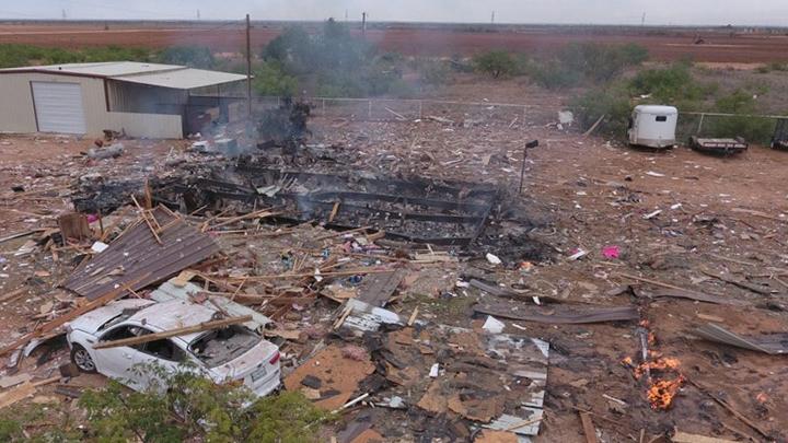 House Explosion Midland County 720