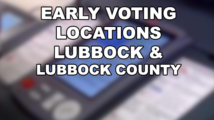 early Voting Locations 720