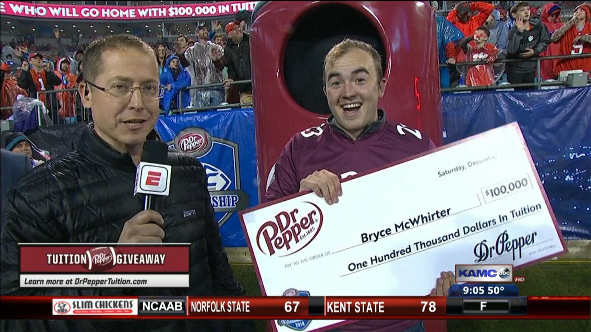 South Plains College Student Wins Dr Pepper Tuition Giveaway