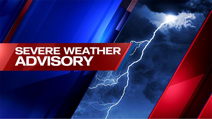 KAMC Severe Weather Advisory (2019) - 720