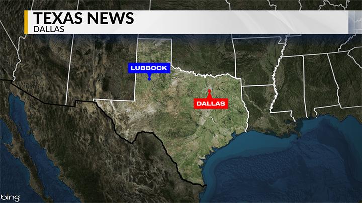 KLBK Dallas, Texas News Locator Map - 720