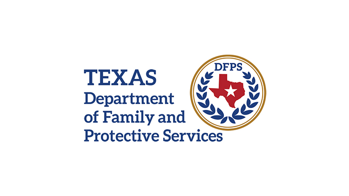 Texas Department of Family and Proctective Services Logo (2019) - 720