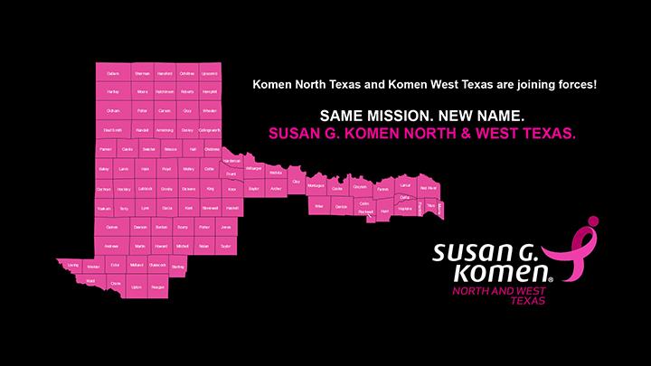 Komen West Texas and Komen North Texas Merger - 720