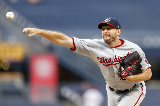 Image result for max scherzer wensday vs. pirates