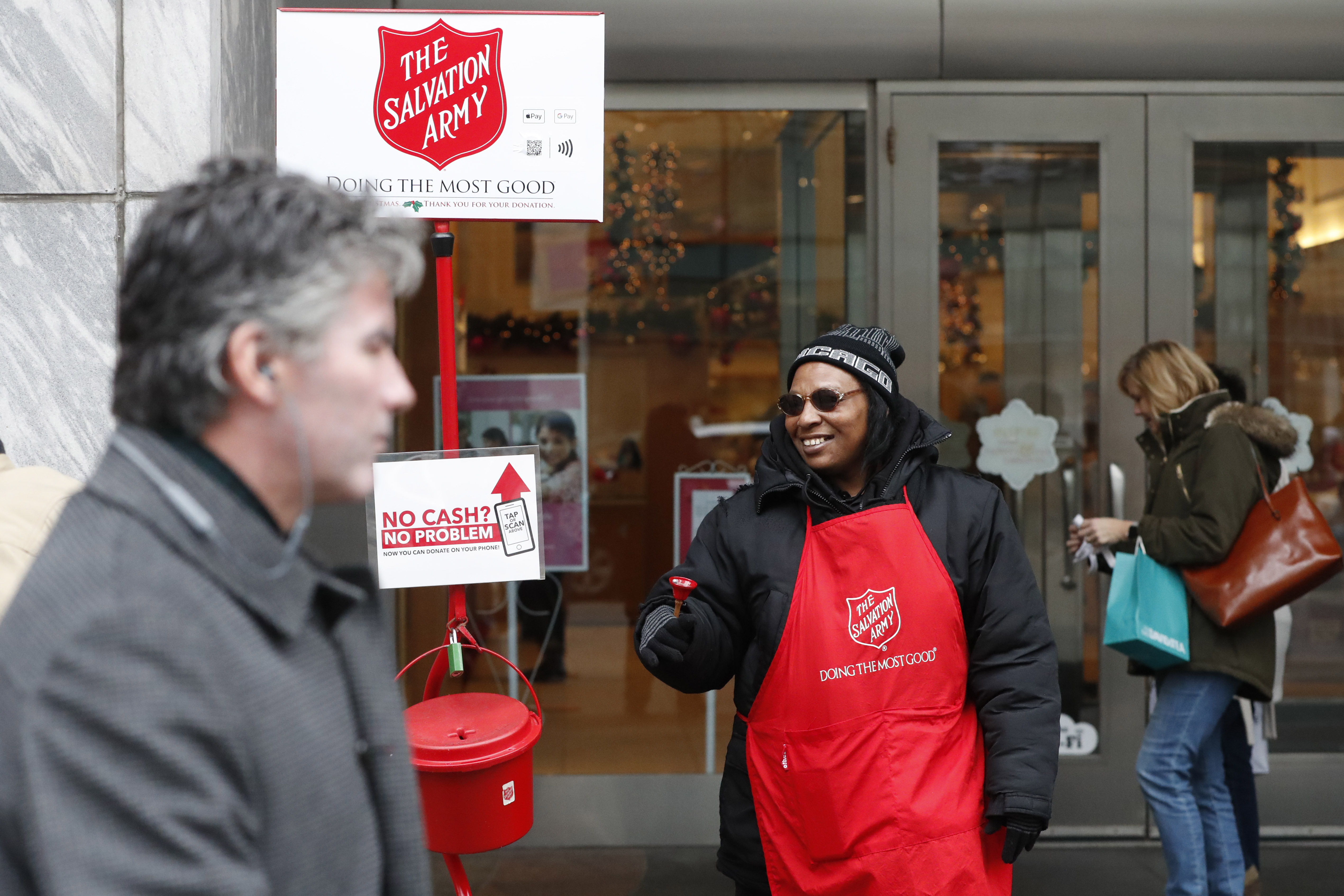 No Cash Salvation Army Now Accepting Mobile Donations