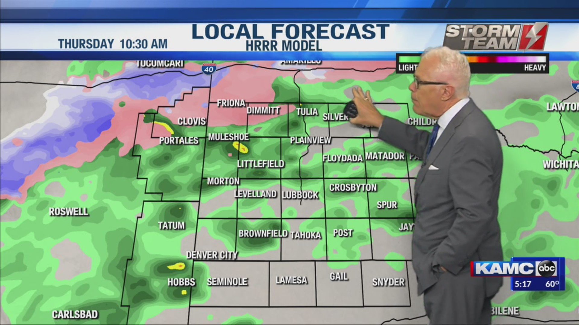 KAMC Weather Webcast with Meteorologist Ron Roberts: November 6th, 2019