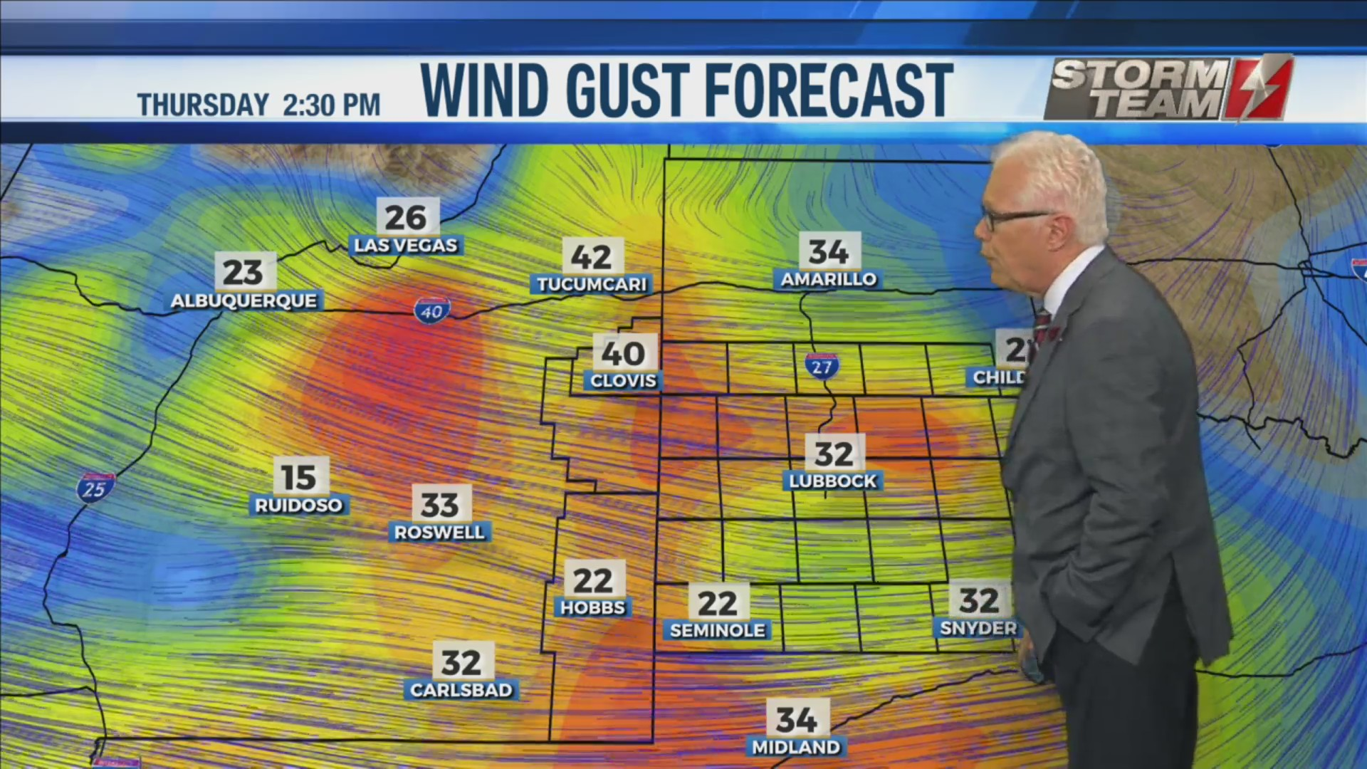 KAMC Weather Webcast with Meteorologist Ron Roberts: December 2nd, 2019