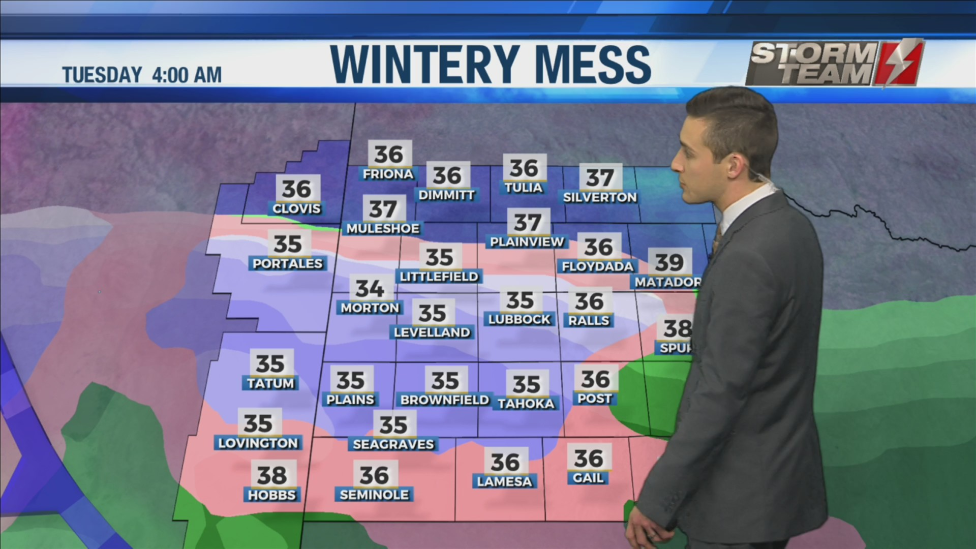 KAMC Weather Webcast with Meteorologist Jacob Riley: December 7th, 2019