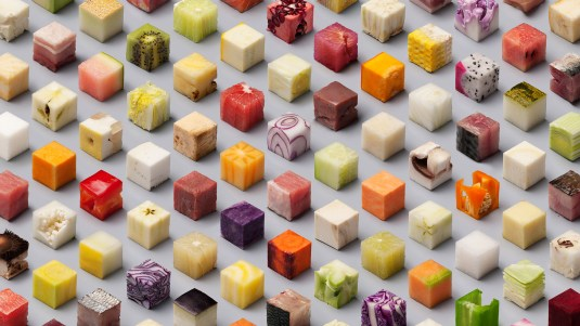 Cubed Food