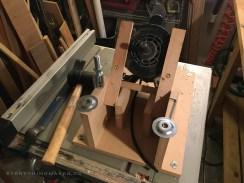 DIY Homemade Slanted Lapidary Grinding Wheel Stand - NateBerends.com - 0105-48-171130