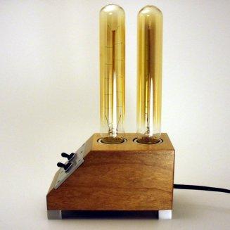 Dual Edison Tube Lamp
