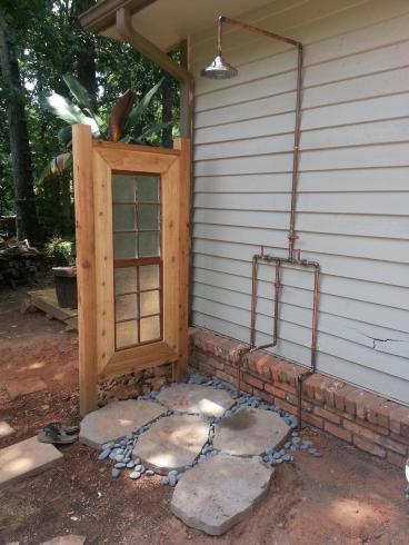 Outdoor Shower Concept