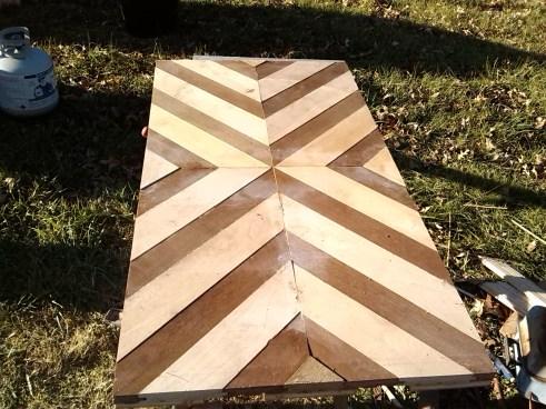 Pallet Scap Table