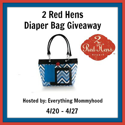 Bloom Into Baby 2 Red Hens Rooster Diaper Bag Giveaway 50 Value Ends 4 27