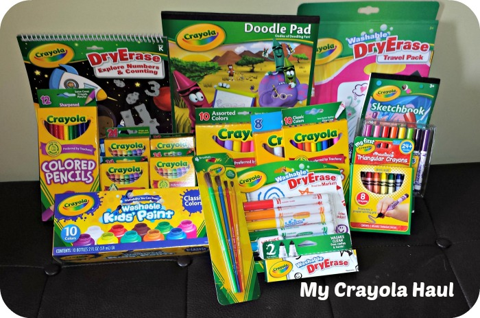 crayola crayons 24 pack 25 cents