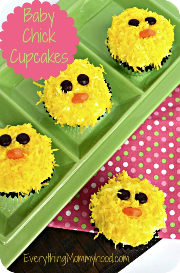 Chick Cupcakes EDIT photo #1