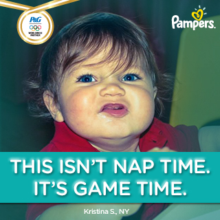 pampers game time