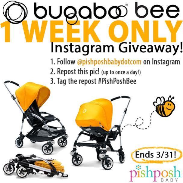 Bugaboo-Bee-instagram-Giveaway