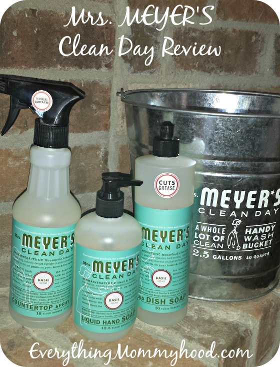 Mrs Meyer S Clean Day Product Review Everything Mommyhood