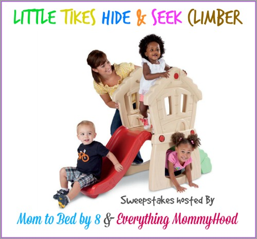 Little Tikes Hide & Seek Climber Sweepstakes