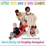 Blogger Opp: Little Tikes Slam 'n' Curve Slide Giveaway