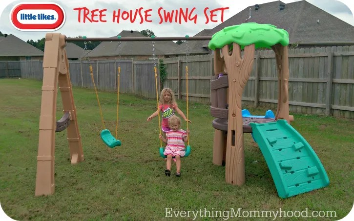 Little Tikes Tree House Swing Set Review Giveaway Ends 9 21
